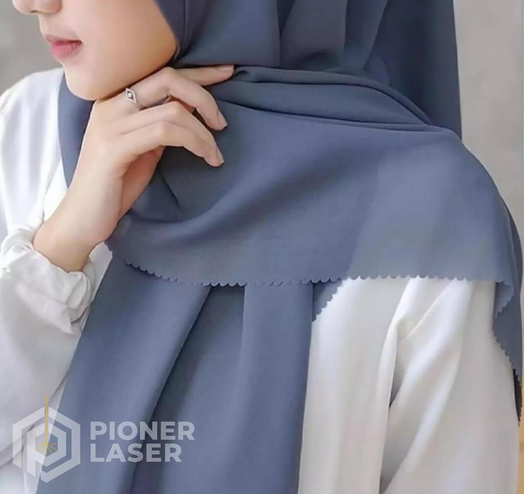 Jasa Cutting Laser Jilbab Bandung